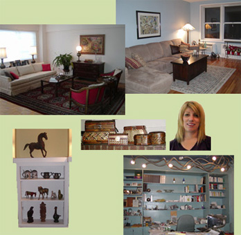 Rooms by Peggy Berk of Area Aesthteics